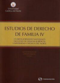 Estudios de Derecho de Familia IV Thomson Reuters Autores: Alexis Mondaca Miranda , Cristían Eduardo Aedo Barrena ISBN: 978-956-400-040-4 Edición 2019 Formato: 17 x 24,5 cm 696 páginas