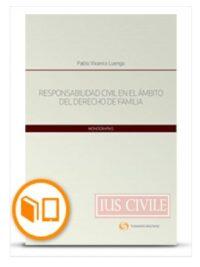 Responsabilidad civil en el ámbito del derecho de familia Autor(es): Pablo Vivanco Luengo Código: 42534710 ISBN : 978-956-346-966-0 Edición: 2018 N° Páginas: 358 págs. Área(s): Legal/Jurídica, Derecho de Familia