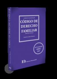 Código de Derecho Familiar Editorial Hammurabi Autor: Cristián Lepin Molina ISBN: 978-956-6022-27-5 Formato: 18 x 11,5 cm Edición Pocket 2019 496 páginas