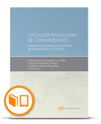 LITIGACIÓN EN MATERIA DE CONSUMIDORES DOGMÁTICA Y PRÁCTICA EN LA REFORMA DE FORTALECIMIENTO AL SERNAC Formato: Libro DUO(Papel + Digital) Autor(es): Claudio Fuentes Maureira ,Felipe Fernández Ortega ,Juan Ignacio Contardo González Código: 42534712 ISBN : 978-956-400-058-9 Edición: 2019 N° Páginas: 404 págs. Tomos: 1 Área(s): Derecho Comercial, Legal/Jurídica