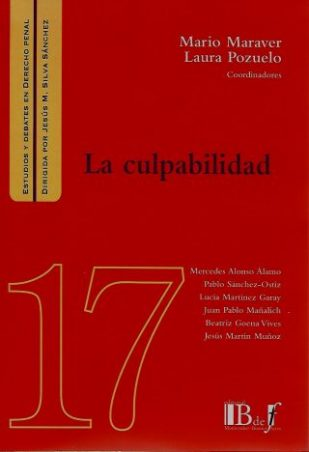 La Culpabilidad N° 17 Editorial B de F Autores: Mario Maraver, Laura Pozuelo ISBN: 978-9974-745-76-6 edición 2019 Formato: 20 x 13,5 cm 280 páginas