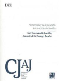 Alimentos y su Ejecución en materia de Familia Ediciones DER Autor: Nel Greeven Bobadilla y Juan Andrés Orrego Acuña ISBN: 978-956-9959-35-6 Formato: 15,5 x 23 cm Edición 2018 134 páginas