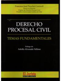DERECHO PROCESAL CIVIL - TEMAS FUNDAMENTALES Autores : Francisco José Pinochet Cantwell Edición : 1ra Edición - 2019 Formato : 1 Tomo - 390 Páginas ISBN : 978-956-3670455 Editorial : El Jurista