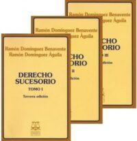 Derecho Sucesorio 3 Tomos 3era Edición Editorial Jurídica de Chile Autores: Ramón Domínguez Benavente, Ramón Domínguez Águila ISBN: 978-956-10-2065-8 Formato: 15 x 23 cm Reimpresión Edición 2019 3175 páginas