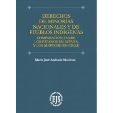 Derechos de Minorías Nacionales y de Pueblos Indígenas Comparación entre los Gitanos en España y los Mapuche en Chile./ Autor: María José Andrade Martínez./ Año: 2019./ Paginas: 622.