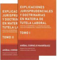 Explicaciones Jurisprudenciales y Doctrinarias en materia de Tutela Laboral 2 Tomos Corman Editores Autor: Aníbal Cornejo Manríquez ISBN: 978-956-8193-44-7 Edición 2019 Formato: 21 x 27 cm 316 páginas