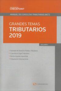 Grandes Temas Tributarios 2019 Volumen I Thomson Reuters Autor: Thomson Reuters ISBN: 978-956-400-056-5 Edición 2019 Formato: 24,5 x 17 cm. 326 páginas