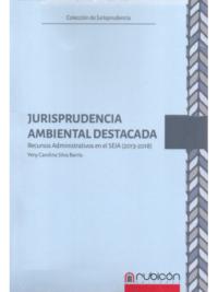 JURISPRUDENCIA AMBIENTAL DESTACADA - Recursos Administrativos en el SEIA (2013-2019) Autor : Yeny Carolina Silva Barria Edición : 1ra Edición - 2019 Formato : 1 Tomo - 469 Páginas ISBN : 978-956-9947-27-8 Editorial : Rubicón
