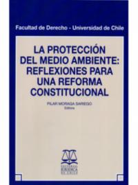 La Protección del Medio Ambiente: Reflexiones para una Reforma Constitucional Autor: Pilar Moraga Sariego Editorial Jurídica de Chile ISBN: 978-956-10-2521-9 Edición, febrero 2019 Formato: 15,2 x 23 cm. 172 páginas